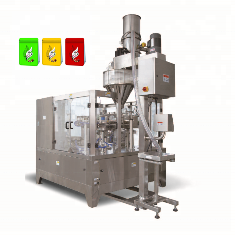 Food Milk Powder Automatic Pouch Packing Machine